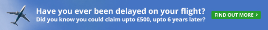 Delayed Flight? Did you know you could claim upto £500