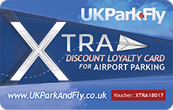 Get your Discount Loyalty card and start saving all year on your Airport Parking & Hotels!